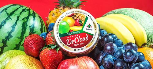 DeCloud Shisha Fruits are made of natural fruits and contain no tobacco, no nicotine, and no tar. ...