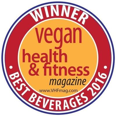 2016 Vegan Health & Fitness Best Beverages Winner