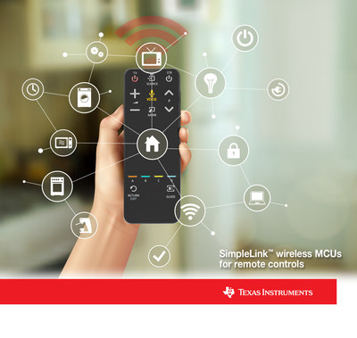 "Say ""hello"" to TI's new SimpleLink wireless MCUs for voice remote controls"