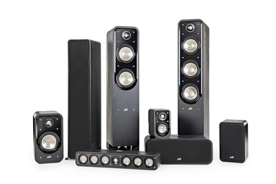 Polk Audio Signature Series Tower, Center, Bookshelf, and Surround Speakers