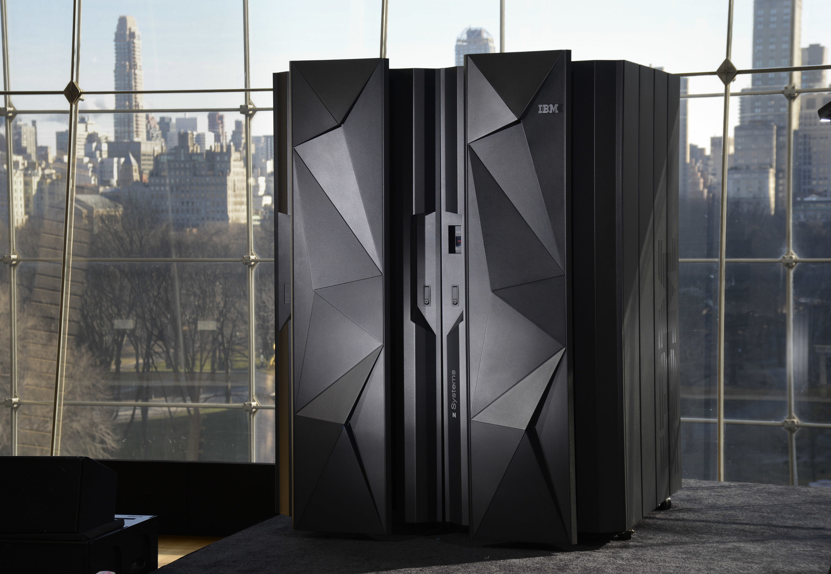 IBM unveiled its new z13 mainframe, one of the most sophisticated computer systems ever built. It culminates a $1 billion investment, five years of development, and includes more than 500 new patents and represents a collaboration with over 60 clients, underscoring IBM's commitment to providing higher-value, innovative technology for clients. (Augusto Menezes/Feature Photo Service for IBM)