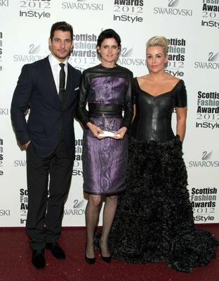 David Gandy, Stella Tennant & Tessa Hartmann
