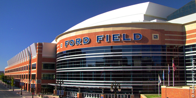 Ford Field in Detroit, Michigan, USA, is the site of the first in a series of international conventions of Jehovahs Witnesses being held in 18 major cities around the world.