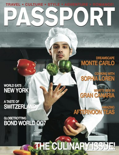 The August Culinary Issue of Passport Magazine is here! (PRNewsFoto/PASSPORT Magazine)