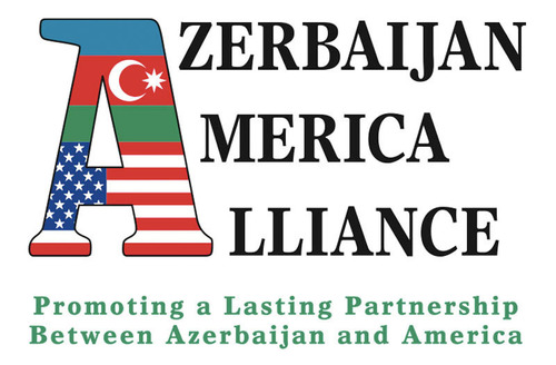 The Azerbaijan America Alliance logo. (PRNewsFoto/The Azerbaijan America Alliance) (PRNewsFoto/THE AZERBAIJAN ...