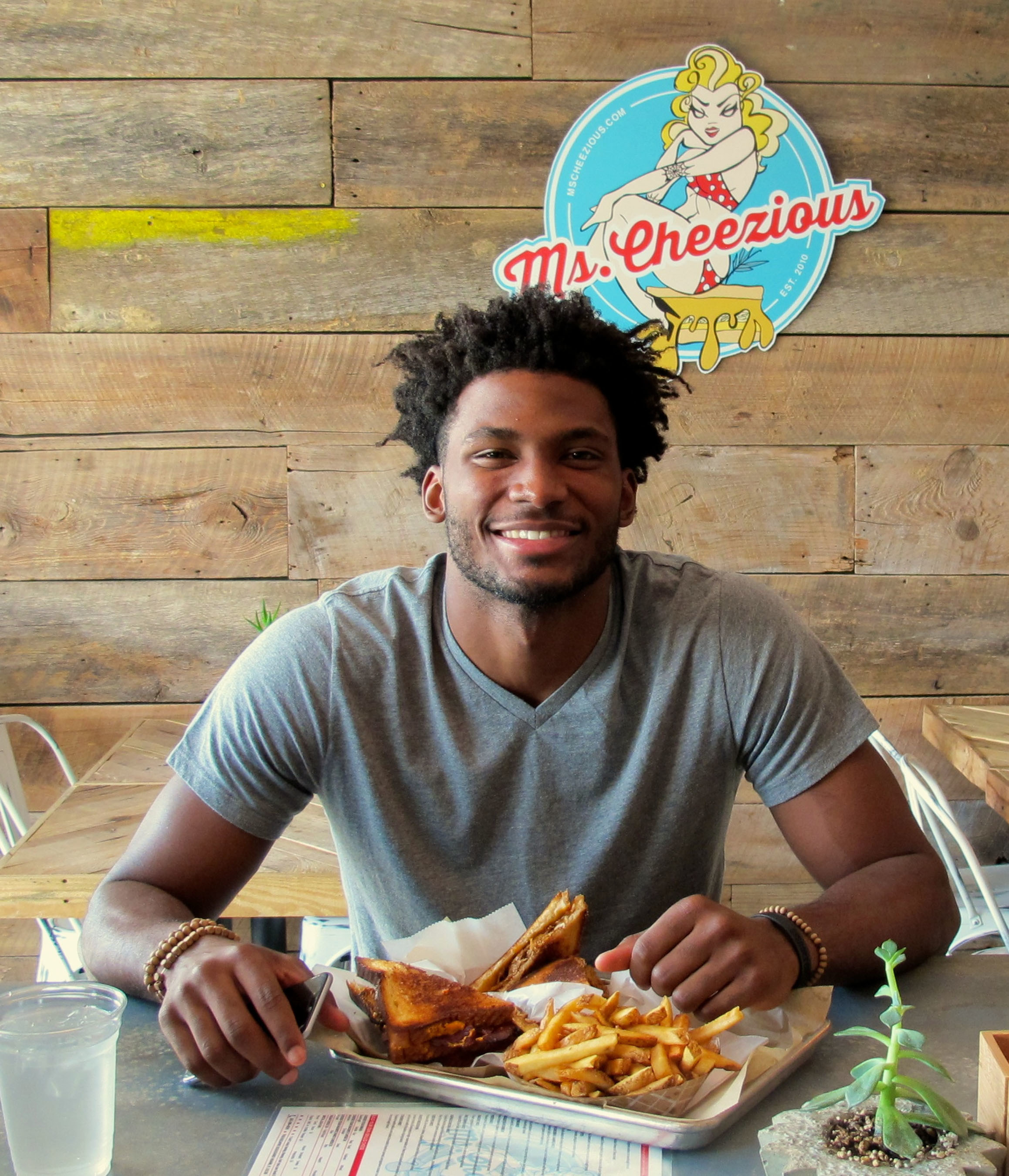 Miami Heat's Justise Winslow Officially Joins the Ms. Cheezious(TM) Family