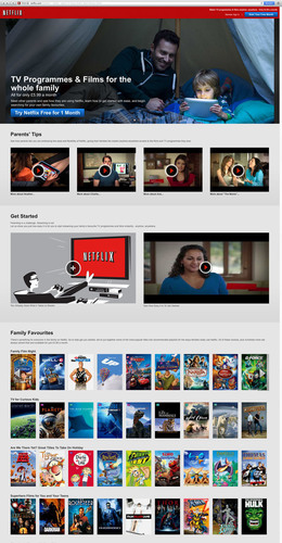 Parenting is Hard, Streaming Isn't - Says Netflix; Netflix.com/Families Helps Parents with the Daunting Task of Entertaining Kids This Summer. (PRNewsFoto/Netflix) (PRNewsFoto/NETFLIX)