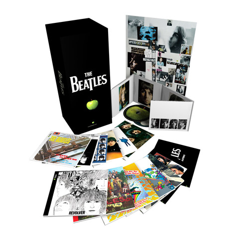 At today's 53rd Annual GRAMMY Awards, The Beatles' acclaimed stereo box set won the GRAMMY for Best Historical Album (Jeff Jones and Allan Rouse, compilation producers; Guy Massey, Steve Rooke, Sam Okell, Paul Hicks, and Sean Magee, remastering engineers).  The September 2009 CD release of The Beatles' remastered original albums and new boxed collections in stereo and mono was one of the year's top entertainment events, breaking chart records around the world.  www.thebeatles.com.  (PRNewsFoto/EMI  Music / Apple Corps Ltd.)