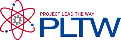Project Lead The Way Logo (PRNewsFoto/Lockheed Martin)