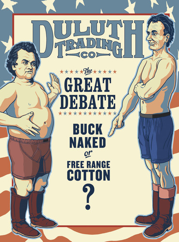 Duluth Trading Company Honors the Great Debate of 1858
