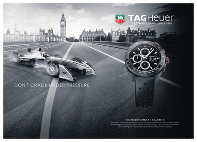 TAG Heuer premieres FIA Formula E Championship season at special VIP press event in Beijing.  (PRNewsFoto/TAG Heuer)