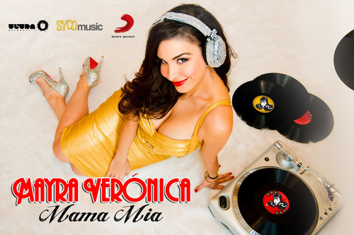 "Mayra Veronica's Mega Hit ""Mama Mia"" Signed by Ultra Music in Joint Venture with Syco Music. (PRNewsFoto/MVA Entertainment Group) (PRNewsFoto/MVA ENTERTAINMENT GROUP)"