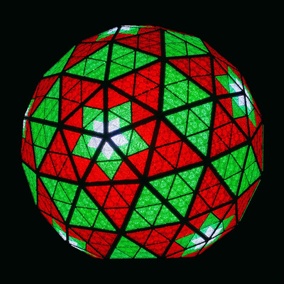 Energy-Efficient Philips LED's Light the Times Square New Year's Eve Ball.  (PRNewsFoto/Royal Philips)