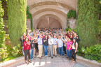 Anthony Terlato and son John Terlato (center) raise a glass with winemaker Marisa Taylor and the winery team at Rutherford Hill in Napa Valley, CA, to mark 20 years of Terlato family ownership. Rutherford Hill is proud to have achieved numerous 90-plus reviews of its signature Merlot, Barrel Select Red Blend, Cabernet Sauvignon, Chardonnay since the Terlato family purchased the winery in 1996.