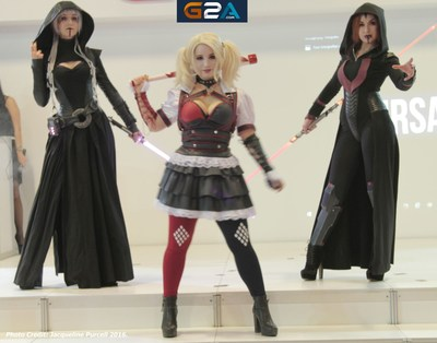 Cosplayers take to the G2A Stage at GIST Gaming Istanbul 2016 (PRNewsFoto/G2A)