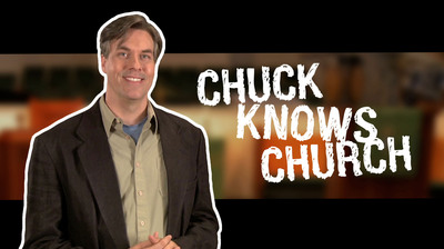 Chuck Knows Church, a weekly web series produced by The United Methodist Church.  (PRNewsFoto/General Board of Discipleship)