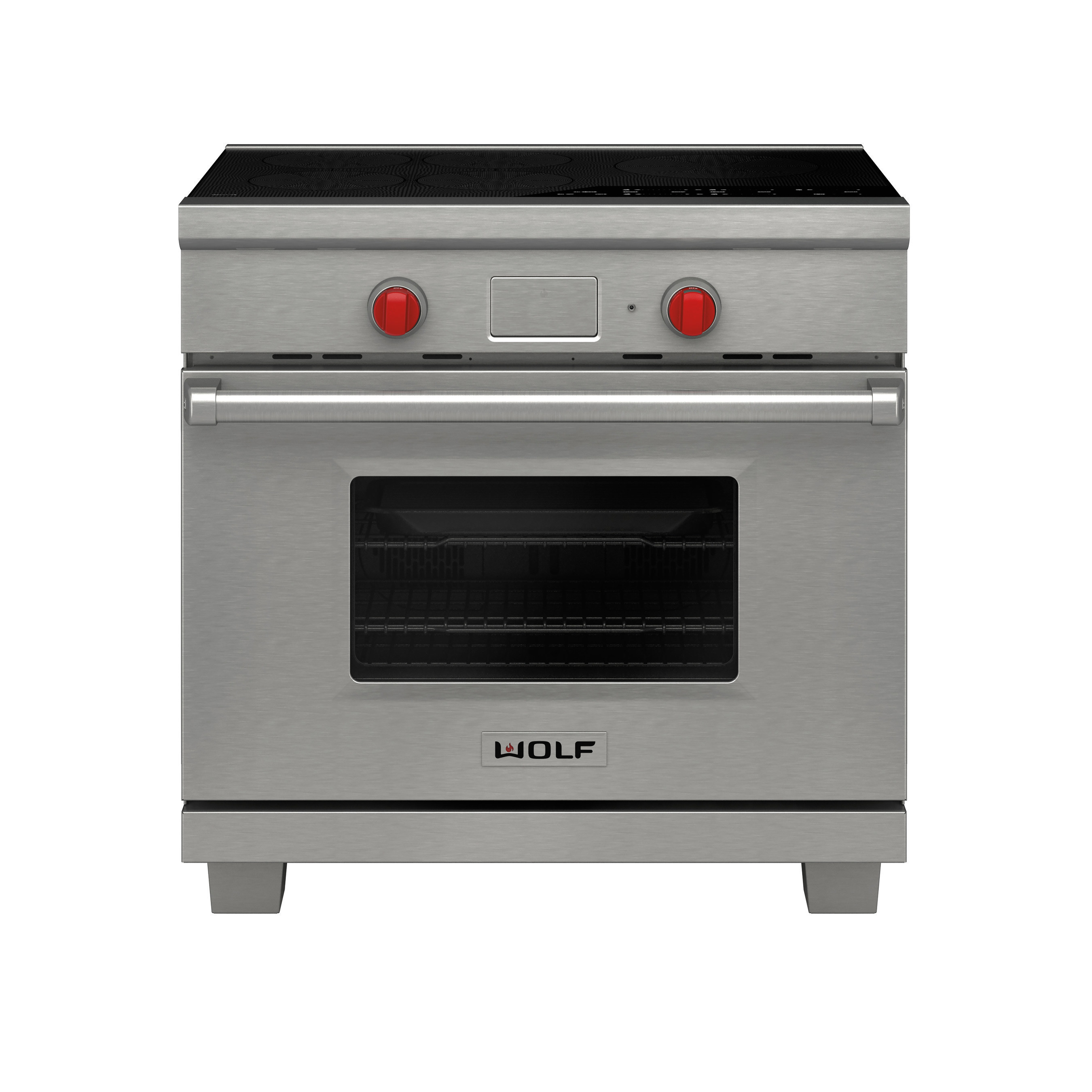 "New Wolf 36"" professional induction range"