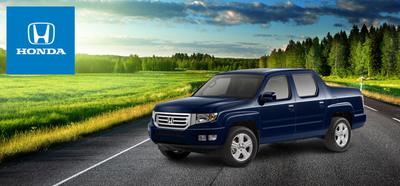 The innovative 2014 Honda Ridgeline presents the ideal in trucking comfort. (PRNewsFoto/Matt Castrucci Honda)