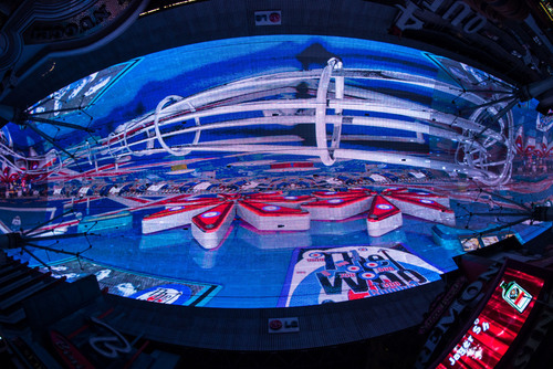 "Fremont Street Experience debuts its newest Viva Vision(R) show The Who - Miles Over Vegas in Downtown Las Vegas. The new light and sound show is built around the music of legendary rock band The Who and includes three of the band's most iconic songs - ""I Can See for Miles,"" ""Pinball Wizard"" and ""My Generation"" - custom synced to stunning graphics including live music footage, album art, performance footage and more. The Who - Miles Over Vegas airs nightly at 10 p.m. as part of the ongoing Viva Vision(R) show ..."