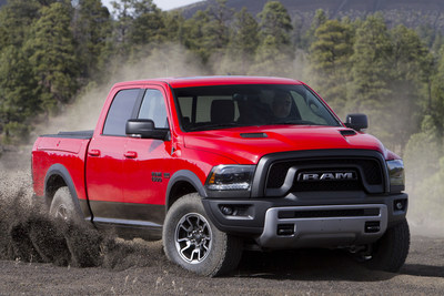 Four Wheeler Magazine names the new 2016 Ram 1500 Rebel its Pickup Truck of the Year.