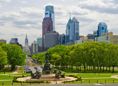 This summer, Philadelphia's culturally rich Benjamin Franklin Parkway features new and revamped museums and blockbuster exhibits. Photo by B. Krist for GPTMC.  (PRNewsFoto/Greater Philadelphia Tourism Marketing Corporation)