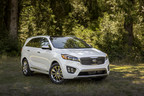 2016 Kia Sorento Receives NHTSA 5-Star Safety Rating