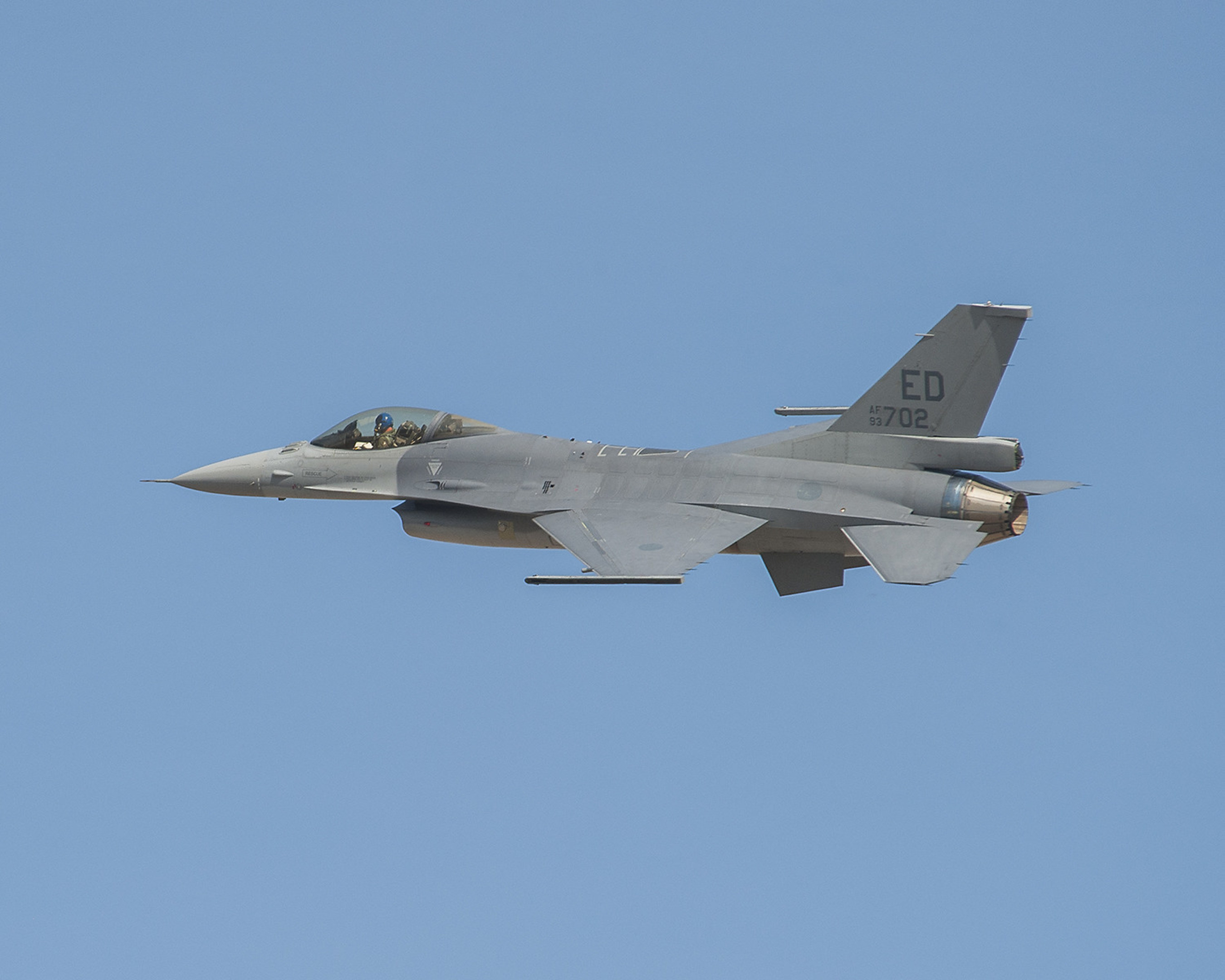 The innovative F-16V configuration provides advanced combat capabilities in a scalable and affordable package. Lockheed Martin photo by Randy Crites.