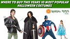 With Americans spending record amounts on costumes this year - nearly $80 a person -- GOBankingRates investigated which popular online retailers are offering the best deals on this year's hottest costumes, from Frozen's Elsa to Game of Thrones' Jon Snow. (PRNewsFoto/GOBankingRates)