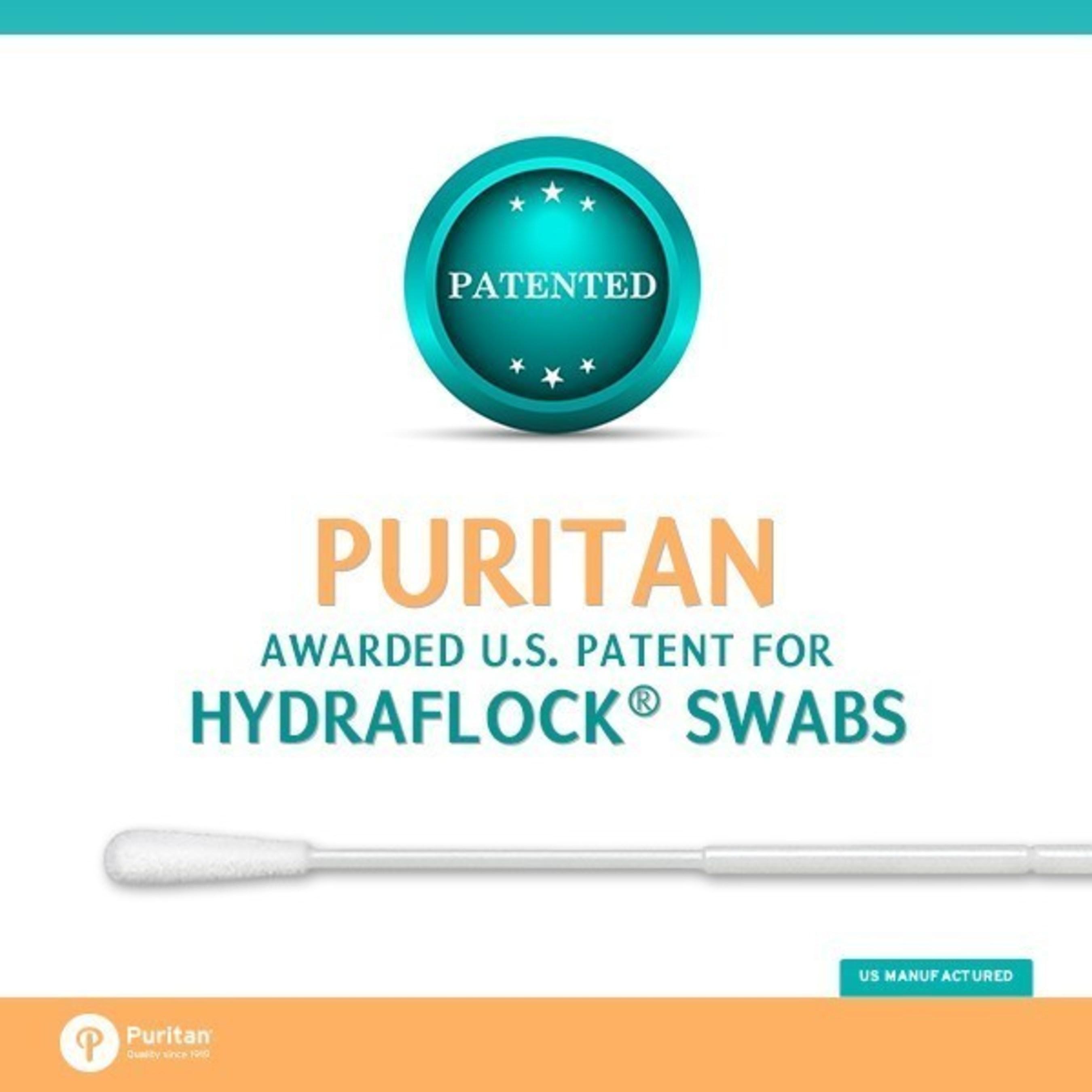Puritan Verstevigt Marktpositie in Flocked Swab-Technologie met Nieuw VS Octrooi