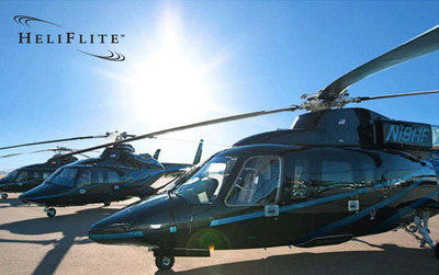 The HeliFlite Fleet.  (PRNewsFoto/HeliFlite)