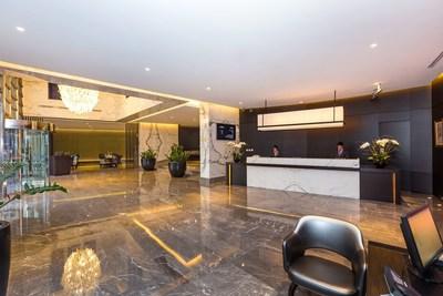 Flora Park(R) Deluxe Hotel Apartments Lobby (PRNewsFoto/Flora Hospitality, Dubai)
