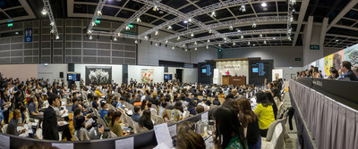 Sotheby's Hong Kong salesroom