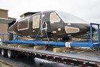 The second prototype of the S-97 RAIDER(TM) arrives at Sikorsky's Development Flight Center in West Palm Beach, Florida