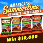 "Snyder's of Hanover ""Pretzel Guys"" Serve up the Fun with America's Summertime Favorite Promotion (PRNewsFoto/Snyder's of Hanover)"