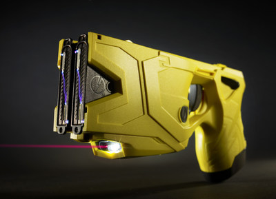 The TASER(R) X2(TM) Smart Weapon.  The use of TASER weapons has saved more than 175,000 lives from potential death or serious injury. Photo courtesy of TASER International, Scottsdale, AZ.