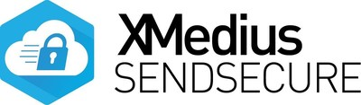 New highly secure and easy to use solution enabling the exchange of all types of files, including audio and video content. (PRNewsFoto/XMedius)