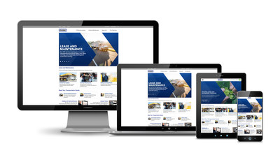 Penske Truck Leasing's new website provides information on its full-service leasing and contract maintenance services as well as industry trends, with a seamless experience on any mobile device, tablet or desktop.