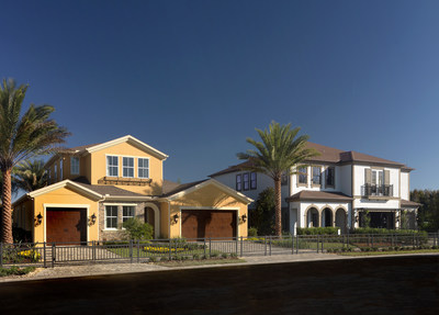 Sago Village at Trinity Lakes offers upscale, new home designs in the heart of Pasco County by Standard Pacific Homes.