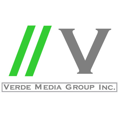 Verde Media Group, Inc. logo.