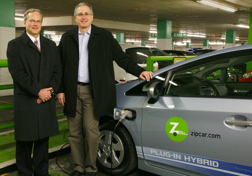Zipcar Announces Program with Toyota to Launch Multi-City Introduction of Plug-in Hybrid Vehicles