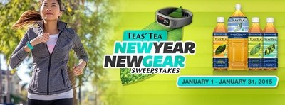 TEAS' TEA Kicks off 2015 With New Year New Gear Sweepstake- 31 Daily Winners