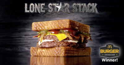 Lone Star Stack (PRNewsFoto/McDonald's of Texas)