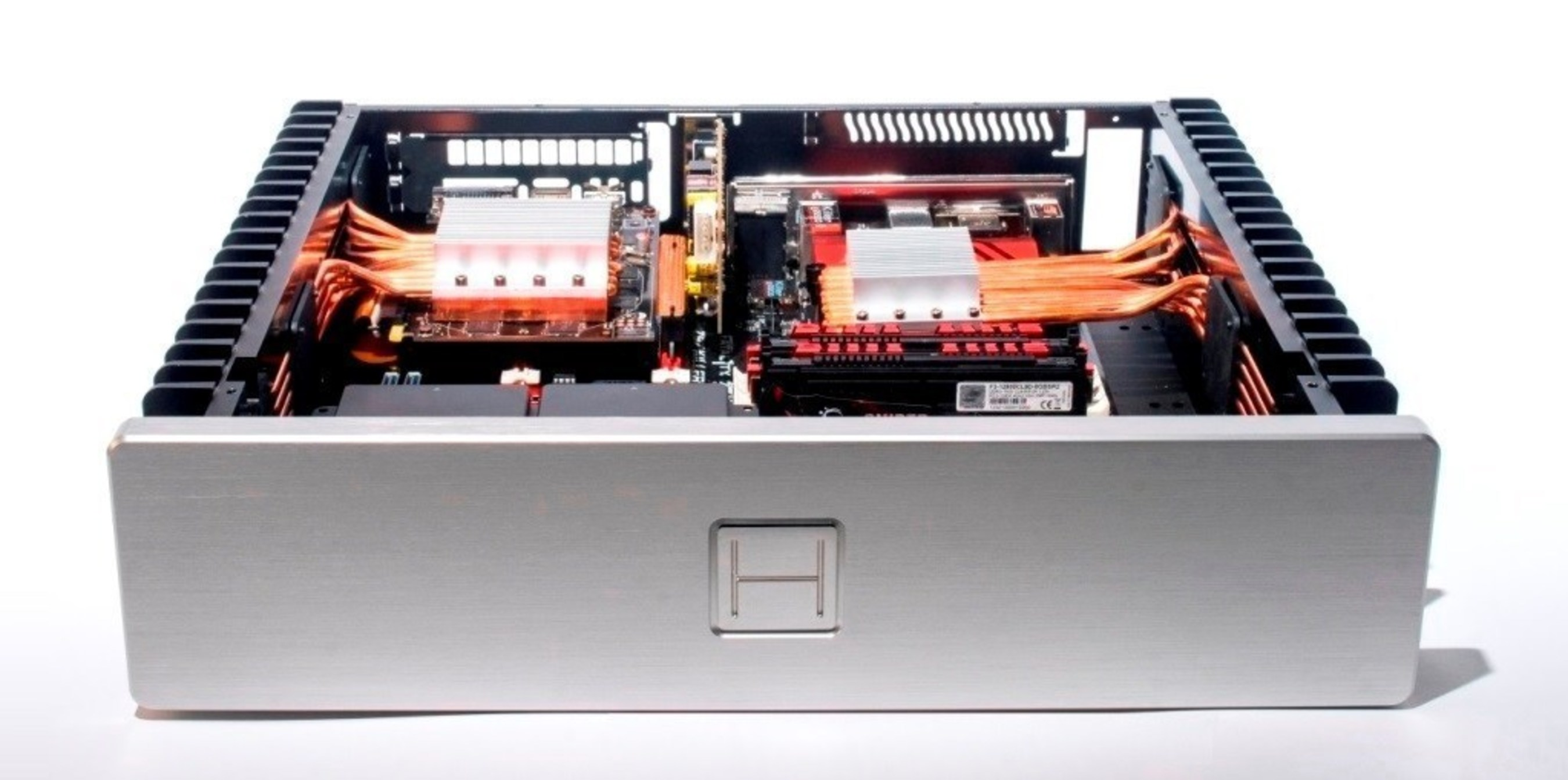 HDPLEX 2nd Gen H5 16 Heatpipe Passive Heatsink System for CPU and GPU