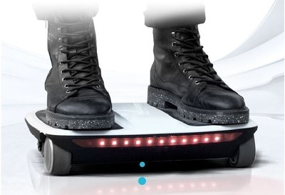 iCarbot -- The Latest Raving Four-Wheeled Electric Hoverboard