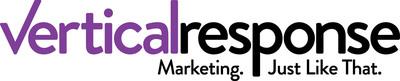 VerticalResponse Corporate Logo.  (PRNewsFoto/VerticalResponse, Inc.)