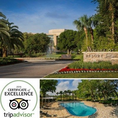Sawgrass Marriott Resort & Spa has earned the prestigious 2016 TripAdvisor Certificate of Excellence. Guest reviews make note of the hotel's convenience, accommodating team members, world-class amenities and spacious rooms. For information, visit www.marriott.com/JAXSW or call 1-904-285-7777.