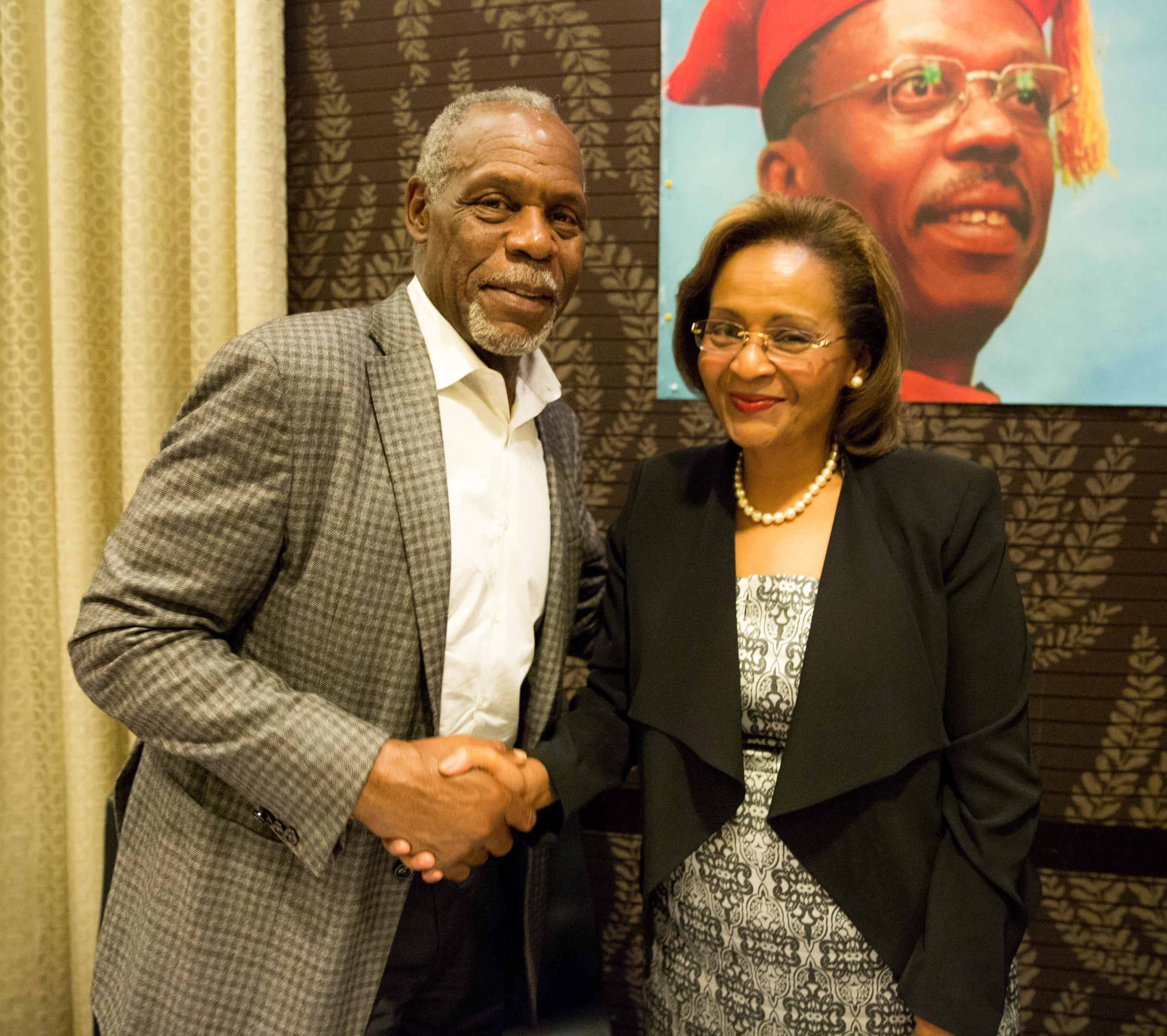 Hollywood Royalty Danny Glover Endorses Haiti's Presidential Campaign Front-Runner Dr. Maryse Narcisse at Private NYC Fundraiser on 9/11