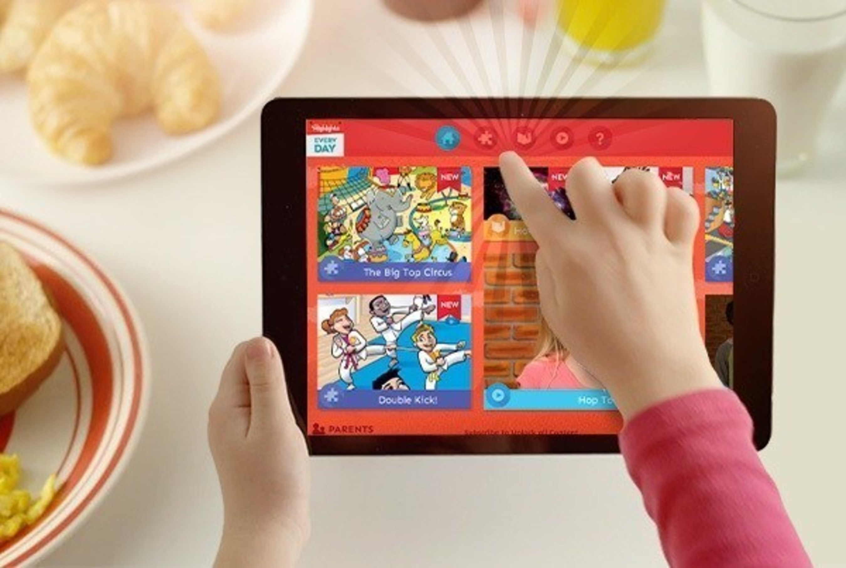 New Highlights Every Day app for Kids