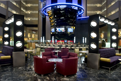 New York Marriott Marquis Reveals Multi-Million Dollar Renovation.  (PRNewsFoto/Marriott Hotels & Resorts)