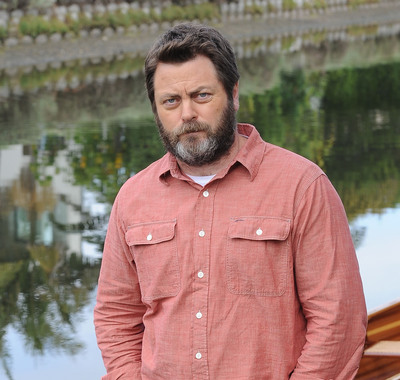 Actor Nick Offerman and Budweiser ask guys to skip shaving to save water for World Environment Day.  (PRNewsFoto/Anheuser-Busch)